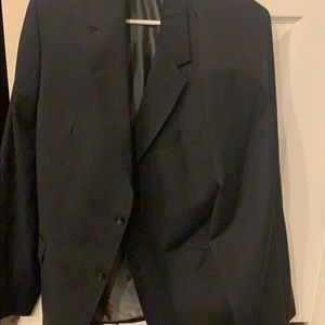 Barely worn Banana Republic pin stripe suit jacket